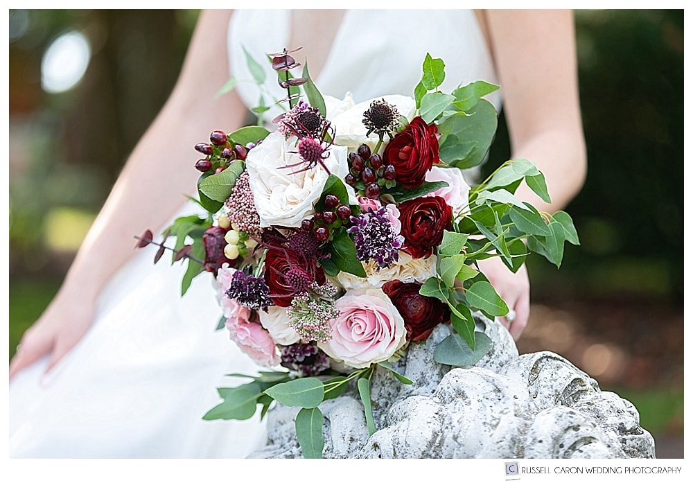 beautiful bridal bouquet by Garden Designs by Kristin