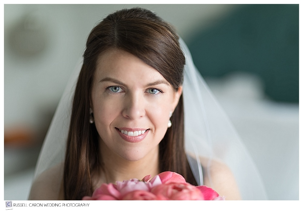 beautiful bridal portrait of Danielle