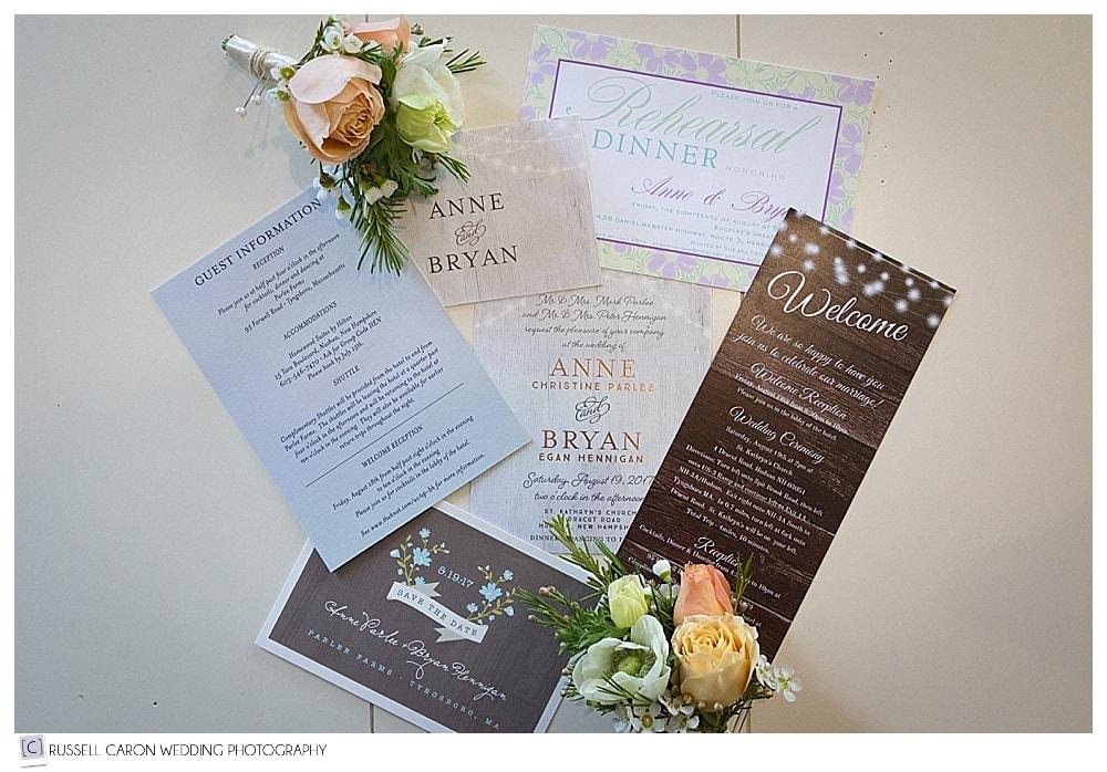 bridal paper suite photo
