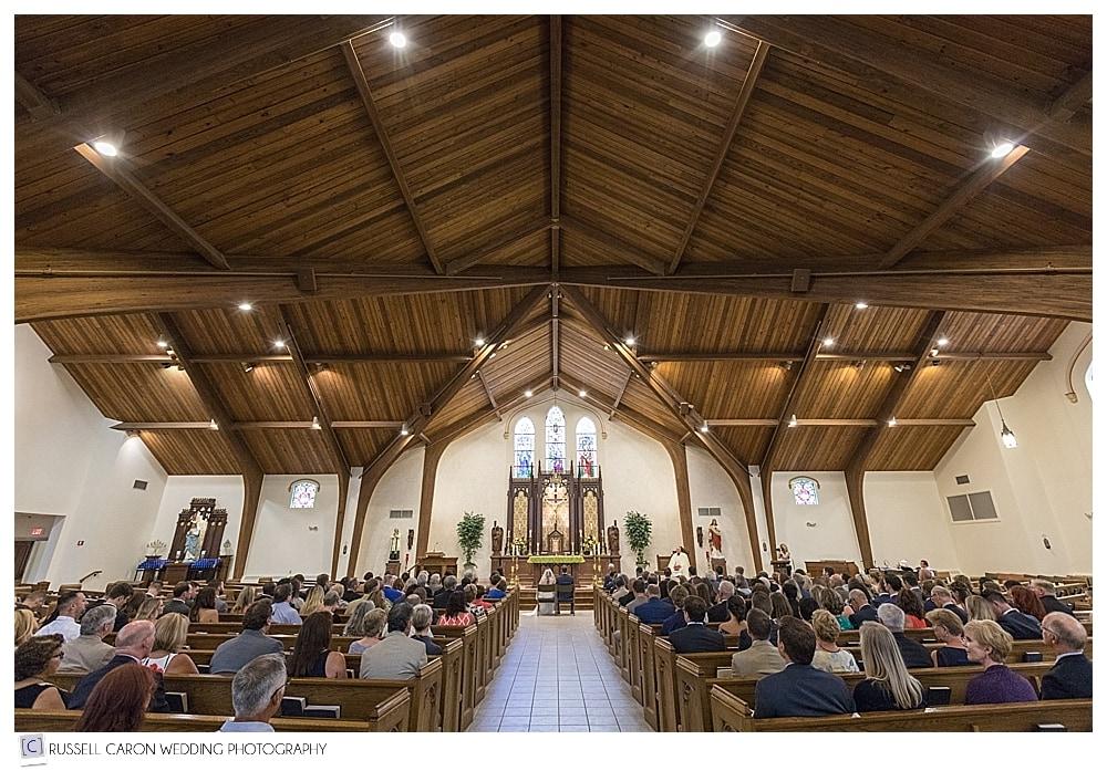 wedding at St. Kathryn's Church, Hudson, NH