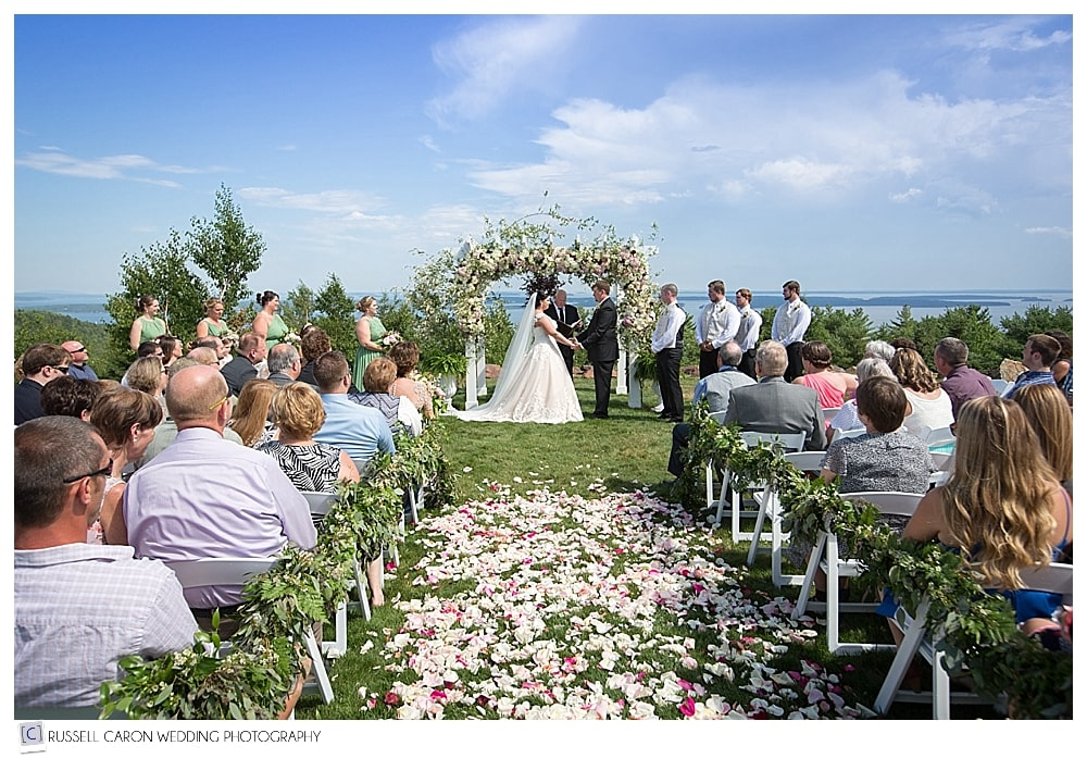 bride-and-groom-during-wedding-ceremony-at-point-lookout
