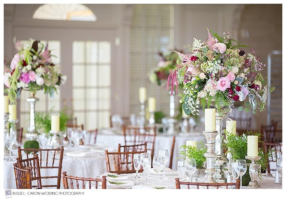 season downcast designs flowers at point lookout maine wedding