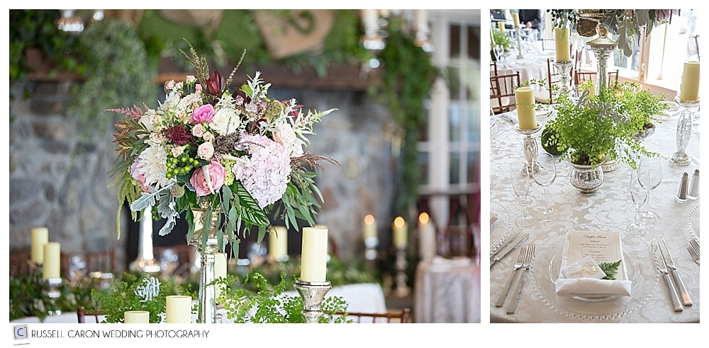 beautiful Point Lookout maine wedding flowers by seasons downeast designs