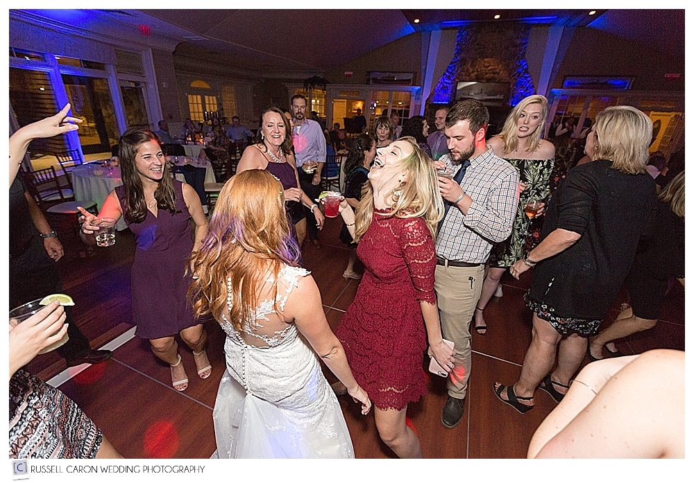 dancing at Point Lookout Resort wedding