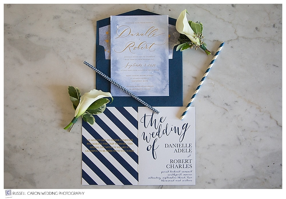 wedding day paper goods by Ink Revival