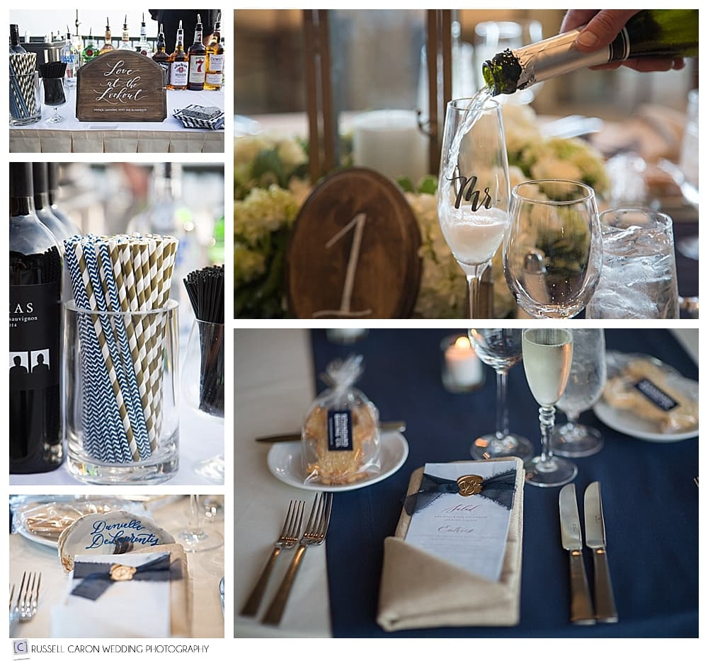 wedding reception details by In Revival
