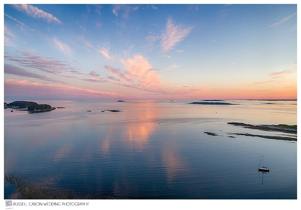 Sunset at Sebasco Harbror Resort, Phippsburg, Maine