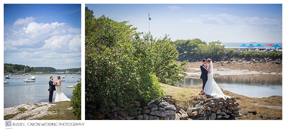 bride-and-groom-in-phippsburg-maine