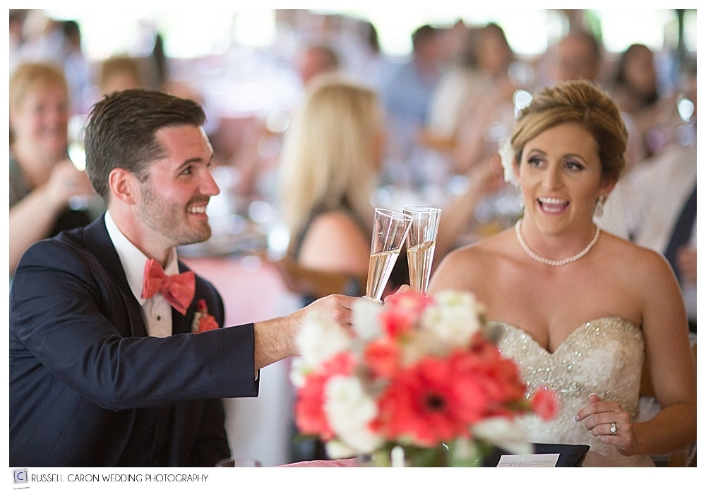 bride-and-groom-toast-with-champagne