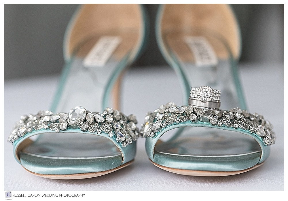 badgley mistake wedding shoe photo