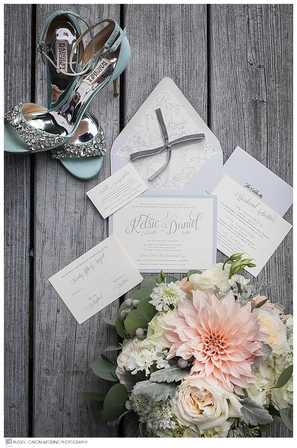 wedding invitation paper suite photo