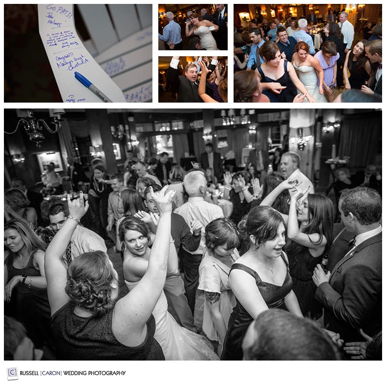 colony hotel wedding reception