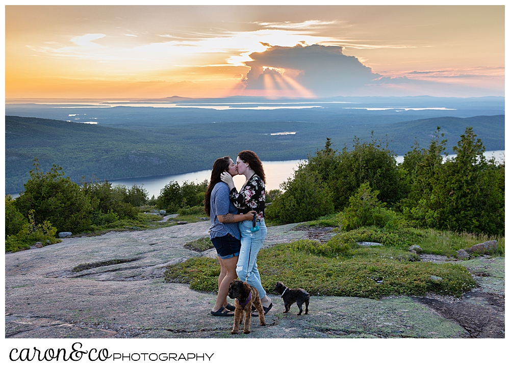 Sunset-acadia-national-park-proposal